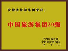 2012年度中国亚博体育app英超买球集团20强